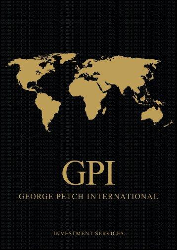Brochure - George Petch International