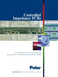 Controlled Impedance PCBs - Polar Instruments