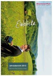 Jahresbericht 2012 - Tourismusnetzwerk Rheinland-Pfalz