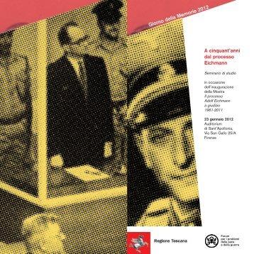 A cinquant'anni dal processo Eichmann