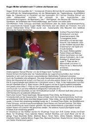 Protokoll Hauptversammlung 2012 - Sportverein Erlenmoos e.V.