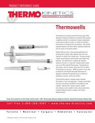 Thermowells - Thermo-Kinetics