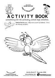 Animal Welfare Activity Book 27 - Queensland Government
