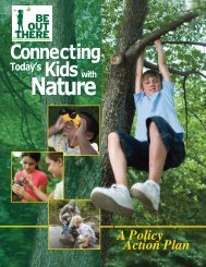 Connecting Today's Kids with Nature - National Wildlife Federation