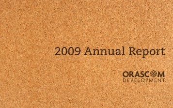 FY 2009 Annual Report - Orascom Development