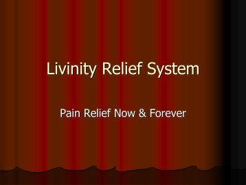 Livinity Relief Capsules - Powered By Freedom