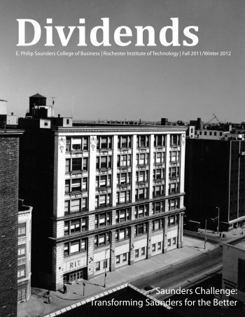 Dividends Magazine - Fall-Winter 2011-2012 - College of Business ...