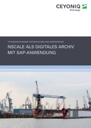 Viele führende Archivanbieter haben uns ihre Systeme präsentiert ...