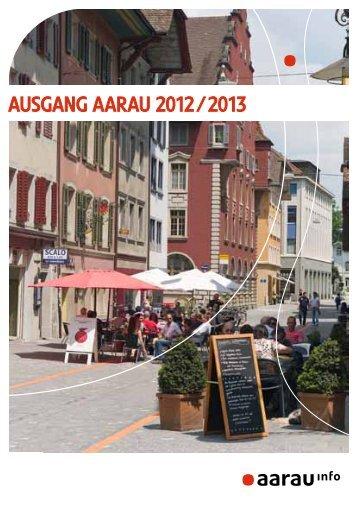 Gastroführer von Aarau Aktiv (PDF) - Aarau Info