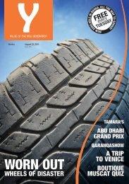 Y - Issue 184 - August 23, 2011 - Y-oman.com