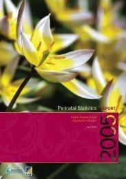 Perinatal Statistics Report 2005.pdf - ESRI