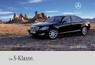 Die S -Klasse. - Mercedes-Benz Македонија