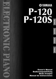 2196KB - Yamaha