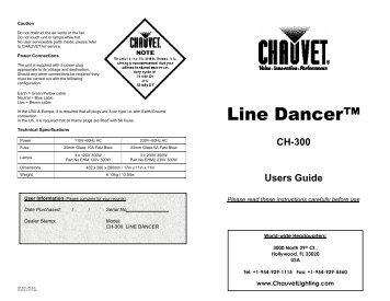 owners manual for chauvet alien adjustable speed rotating wheel rh yumpu com User Manual PDF Cartoon Manual