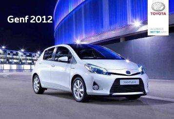 Genf 2012 - Toyota