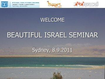 """beautiful israel"" destination ppt presentation - Israel Trade ..."