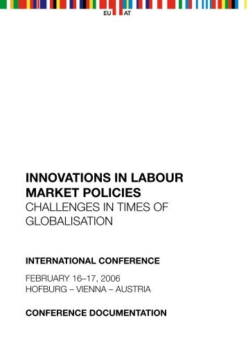 Innovations in Labour Market Policies (International ... - Wisdom
