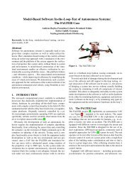Model-Based Software In-the-Loop-Test of Autonomous Systems ...
