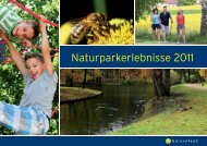 Naturparkerlebnisse 2011 - RMB