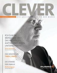 Exemplar als PDF herunter laden - Clever Magazine - Purmo Radson