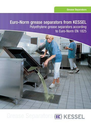 Kessel Grease Separator Catalogue (PDF) - Kuysen