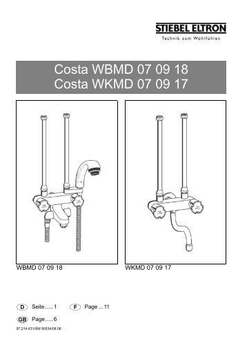 Costa WBMD 07 09 18 Costa WKMD 07 09 17