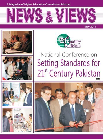 HEC Magazine (May-2011) - Higher Education Commission