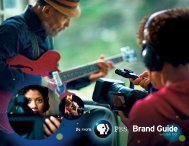 PBS brand guide - WGBH