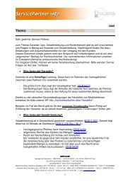 Garantie - Gewährleistung - Rücktritt - QUIPS GmbH