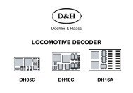 LOCOMOTIVE DECODER - Doehler & Haass
