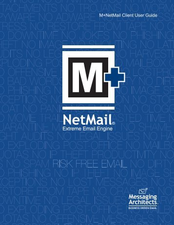M+NetMail Client User Guide