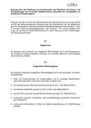 Satzung über - Stadt Wilhelmshaven