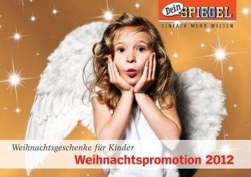 Weihnachtspromotion 2012 - Spiegel-QC