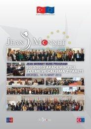 2012-2013 Brüksel Ziyareti Bülteni - Jean Monnet