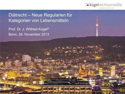 Vortrag Prof. Dr. Kügel