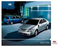 2006 Kia Spectra Brochure - Jeff Young Design
