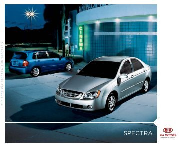 2006 Kia Spectra Brochure - Jeff Young Design