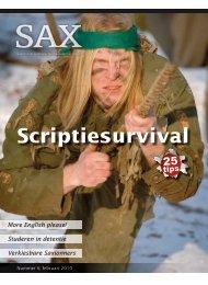 Scriptiesurvival - Sax.nu