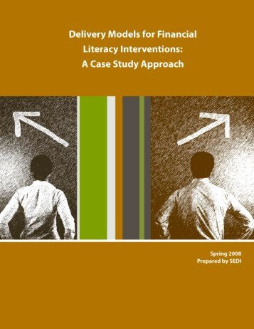 Delivery Models for Financial Literacy Interventions - SEDI