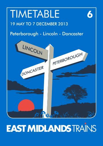 Download Peterborough to Doncaster timetable - East Midlands Trains