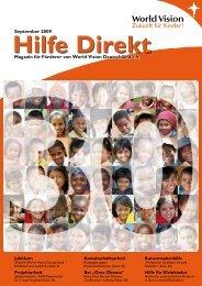 Zukunft für Kinder! - World Vision