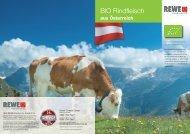 Biorindfleisch aus Österreich – nachhaltige Produktion - PariSERVE