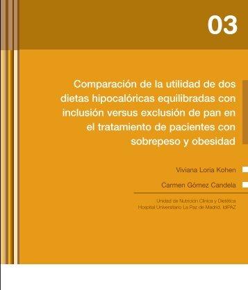 Estudio: La exclusión del pan en una dieta de ... - Uibaker.org