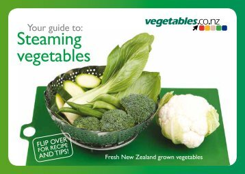 Your guide to Steaming vegetables - Pad of 50 preview