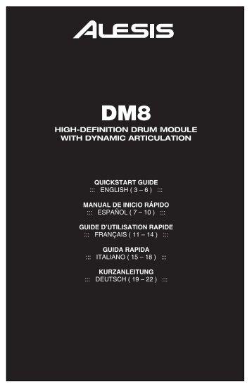 DM8 - Quickstart Guide - RevA - UniqueSquared.com