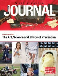 Special CME Issue - West Virginia State Medical Association