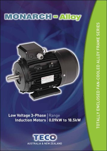 Low Voltage 3-Phase Induction Motors Range 0.09 ... - RMS Industrial