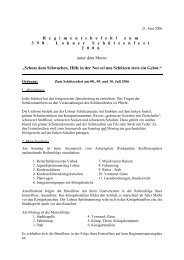 Regimentsbefehl 2006 - Schützenverein Lohne eV von 1608