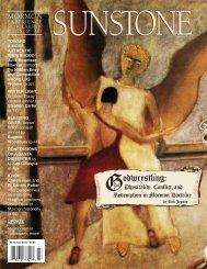 Download Entire Issue PDF - Sunstone Magazine