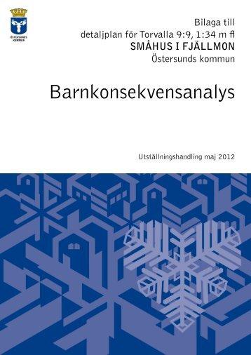 Barnkonsekvensanalys - Östersunds kommun